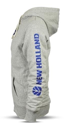 New Holland Sweatshirtjacke Gr. XL