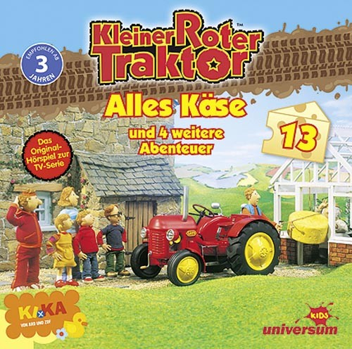 Kleiner roter Traktor: Alles Käse (CD) - Hörbuch