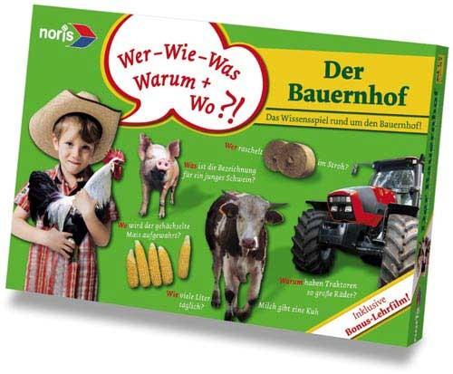 Der Bauernhof/Lernspiel mit DVD-Film