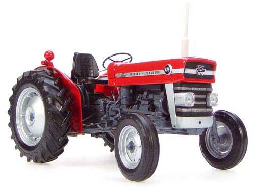 Massey Ferguson 65 Baujahr 1963 rot 1:32 Atlas